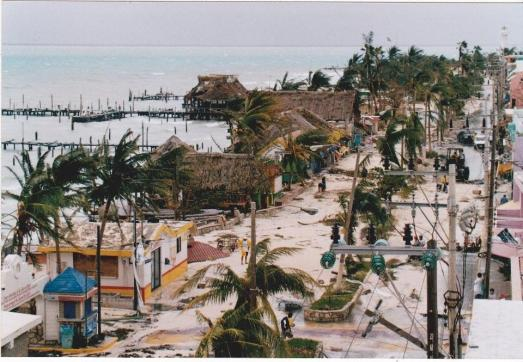 1988 Isla after Hurricane Gilberto