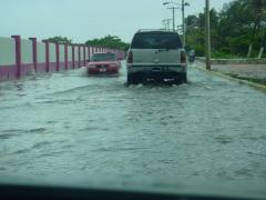 2011 June TS Arlene, flooding roads