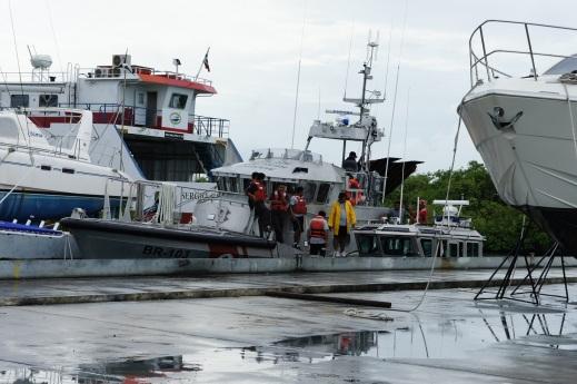 Boats in Laguna Makax