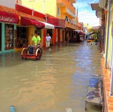 2016 Hidalgo after twenty minutes of rain
