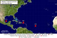2017 Katia, Irma, Jose 3 Hurricanes Sept 6th