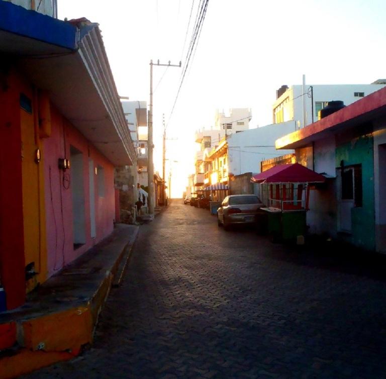 sunrise on Isla Mujeres